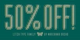 Litza Type Family - By Marianna Orsho