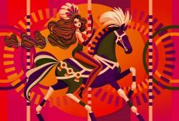 Merry-Go-Round Illustration by Marianna Orsho